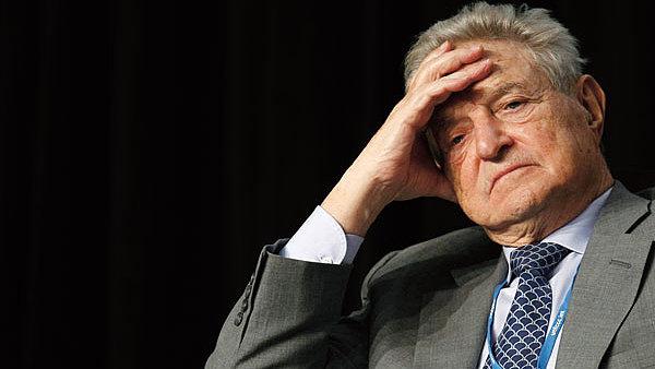 Finančník a filantrop George Soros.