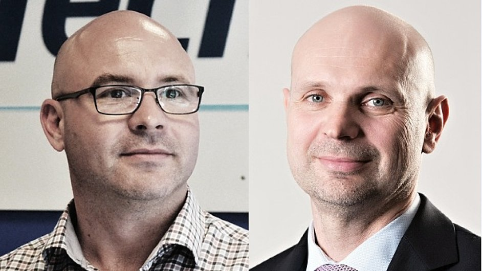 Tomáš Cígler a Pavel Salák, společnost Tech Data