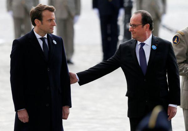 Francie, volby, 2017, prezident, Hollande, Macron