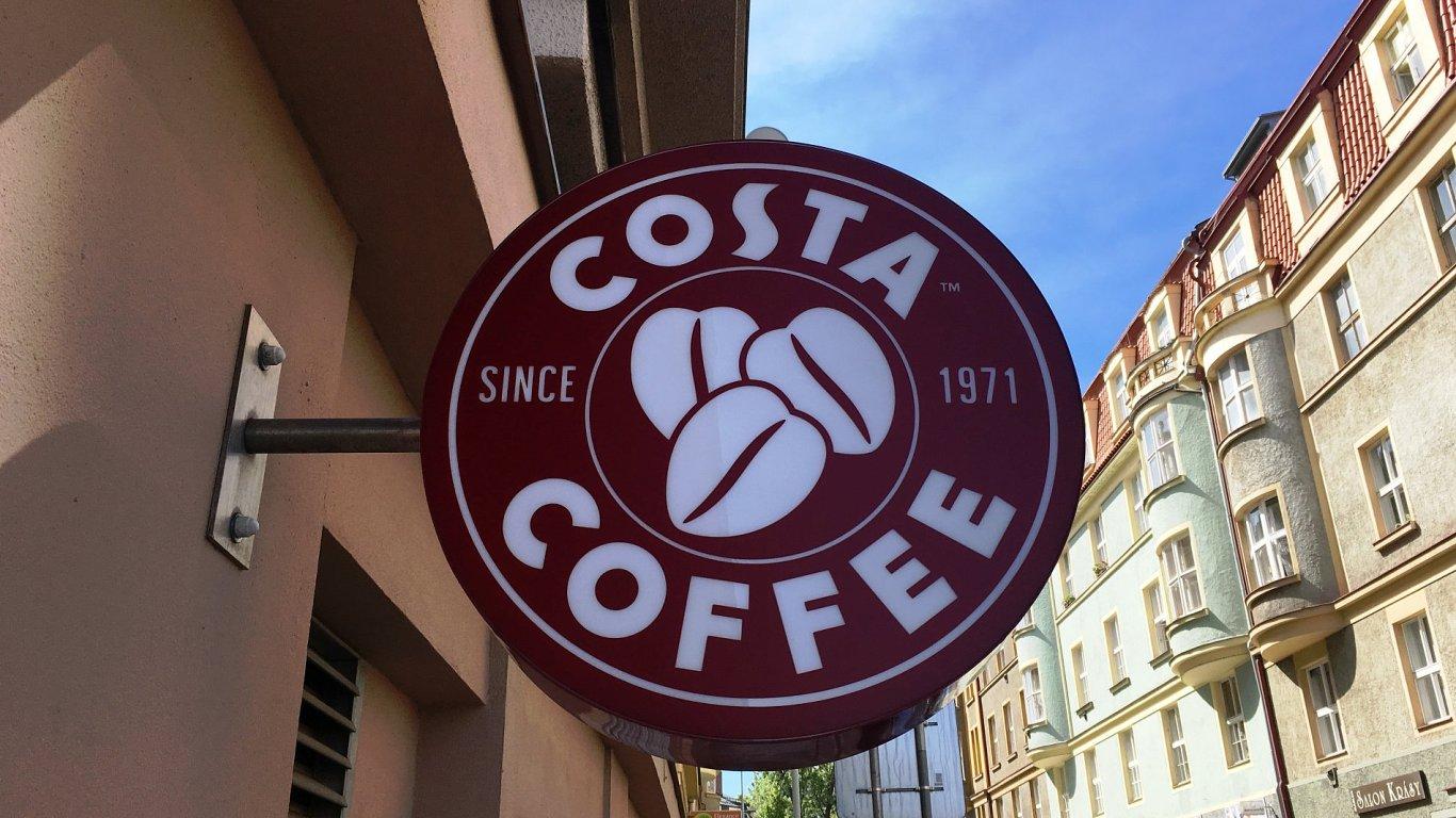 Costa Coffee na Hradčanské.