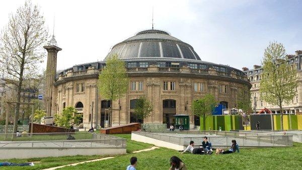 Muzeum Pinaultovy nadace by v historické budově Bourse de Commerce (na snímku) mělo fungovat již od roku 2019.
