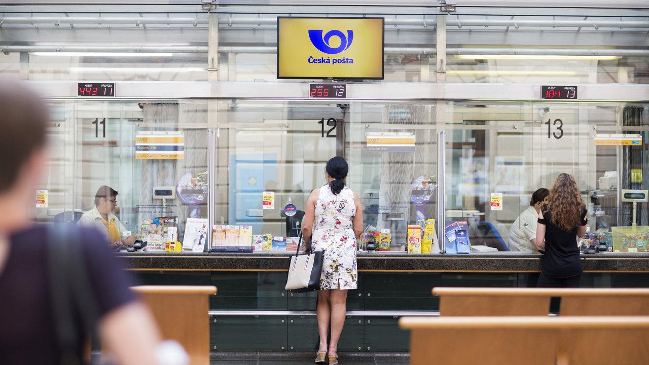 Česká pošta se jako jediná přihlásila do výběrového řízení na držitele poštovní licence.