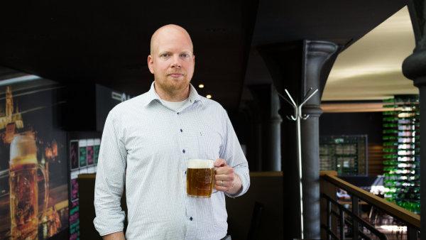 Ondřej Koucký, sládek a ředitel pivovaru Starobrno.