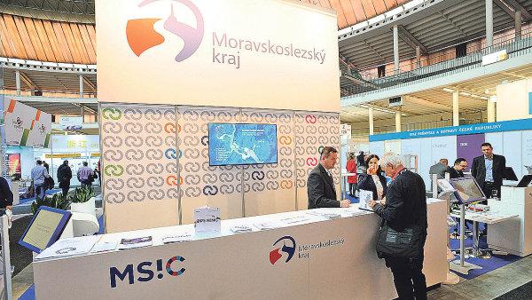 Nabídnout pomoc malým a středním firmám - i to je cílem expozice Moravskoslezského kraje.