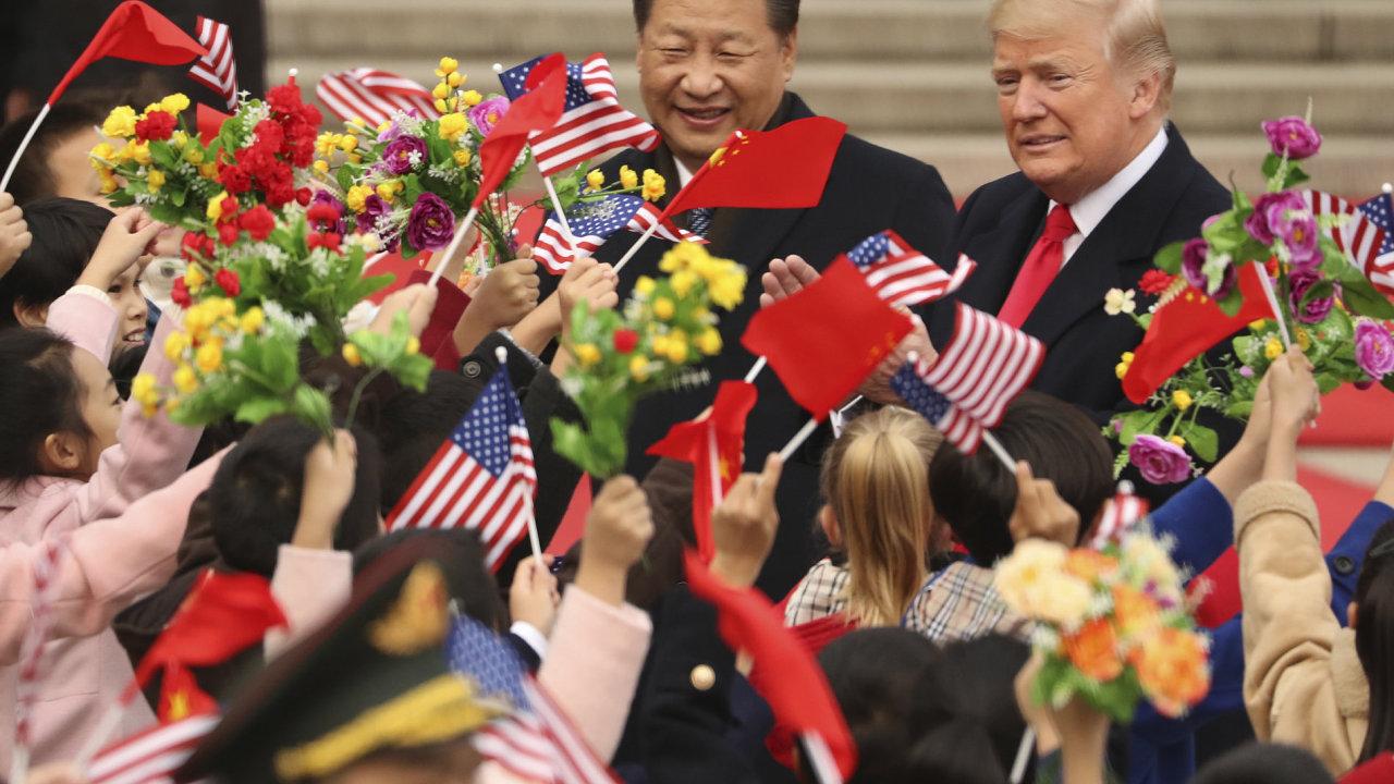 Donald Trump a Si Ťin-pching Čína