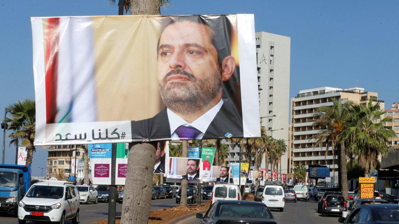 Libanonský premiér Harírí na svůj post rezignoval, podle Nasralláha k tomu ale byl přinucen.