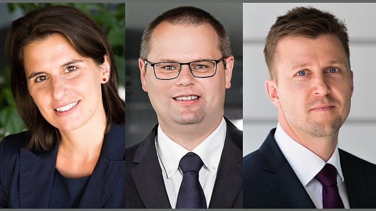 Barbora Šíblová, Pavel Dolák a Aleš Krempa novými directory KPMG v České republice
