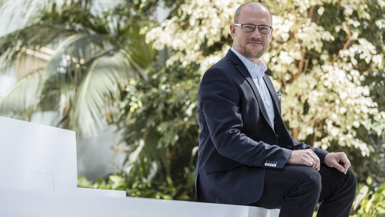 Generální ředitel společnosti Sodexo Benefity Daniel Čapek