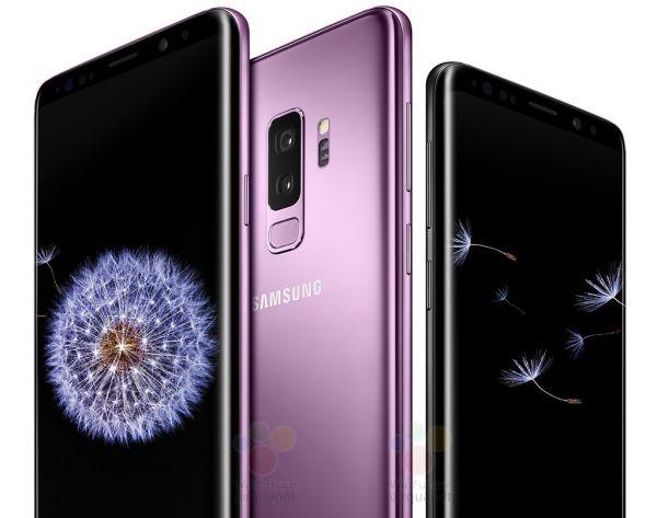 Samsung Galaxy S9 Plus.