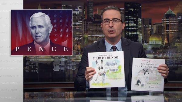 John Oliver oznámil internetový prodej své satirické knihy ve své show