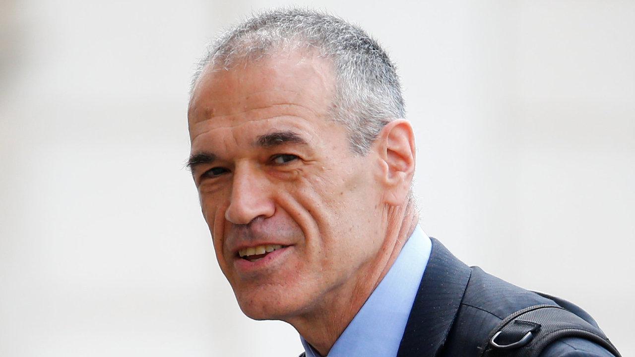 Ekonom Carlo Cottarelli, který se pokusí sestavit novou italskou vládu.
