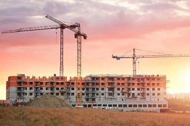 Podle údajů developerských firem stouply v Praze ceny nových bytů od poloviny roku 2015 o 90 procent. - Ilustrační fotografie