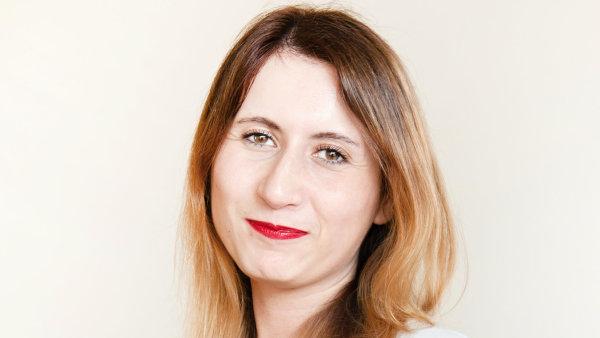 Martina Zbránková, projektová manažerka Socialsharks
