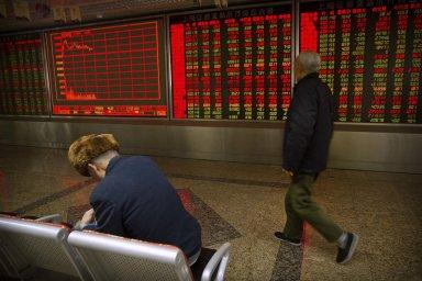 Index čínských akcií posílil o téměř 30 procent.