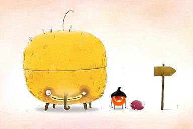 Jednou z her, která loni vyšla, byla adventura Chuchel od studia Amanita Design.