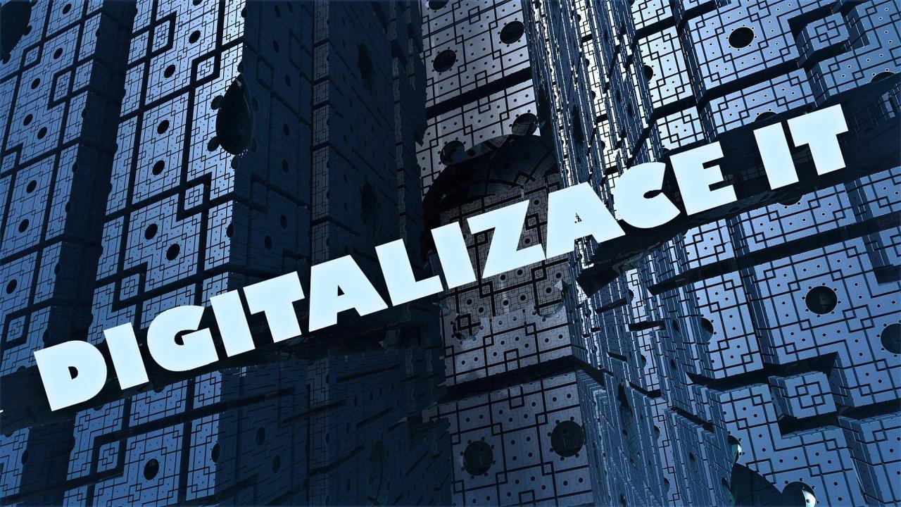Digitalizace IT, ilustrace