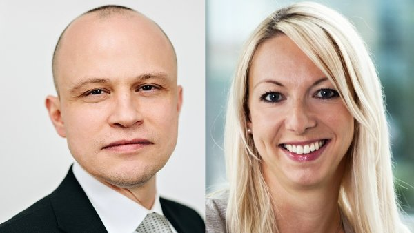 Nurettin Erdogan, obchodní ředitel GEFCO ČR a SR, Eva Odstrčilíková, ředitelka rozvoje globálních klientů z oblasti automobilového průmyslu