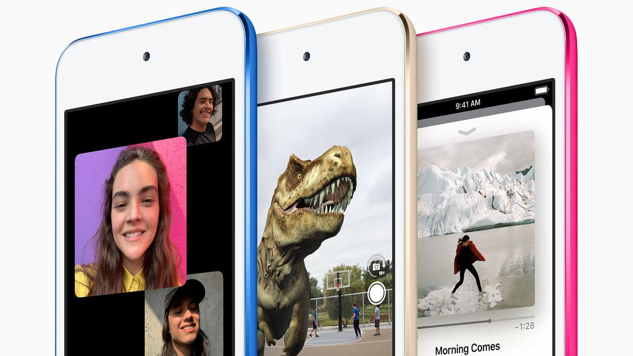 iPod Touch je legendární multimediální přehrávač a stále nejlevnější zařízení s iOS.