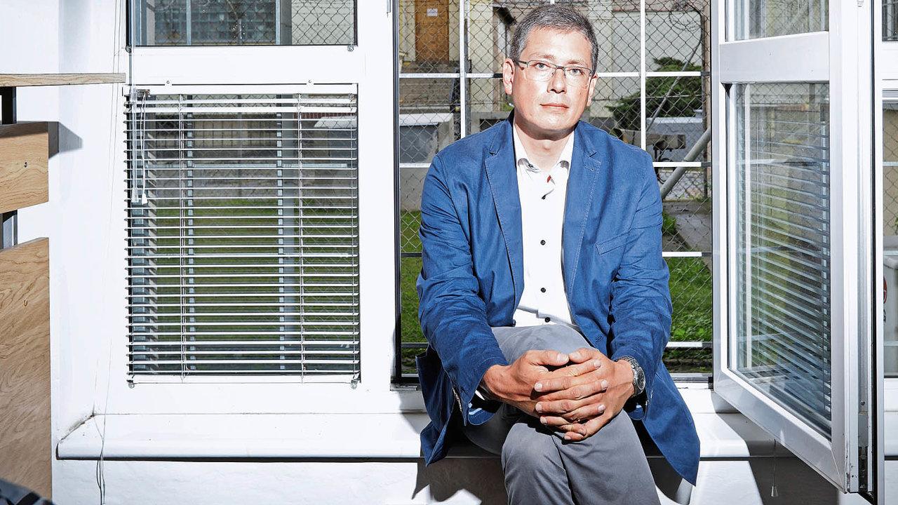 Vedoucí psycholog Vězeňské služby České republiky Václav Jiřička