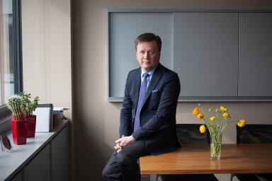 Předseda České asociace pojišťoven Jan Matoušek