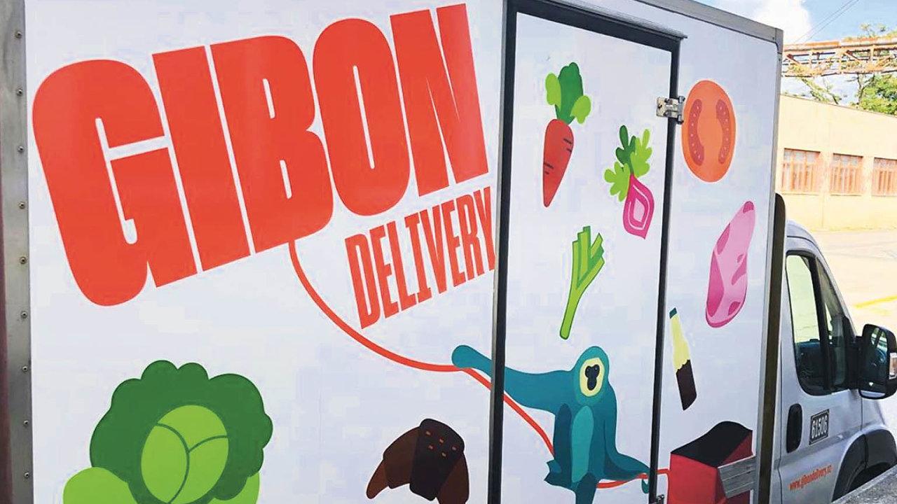 Nadoručování chlazeného amraženého zboží koncovým zákazníkům se zaměřuje společnost Gibon Delivery.