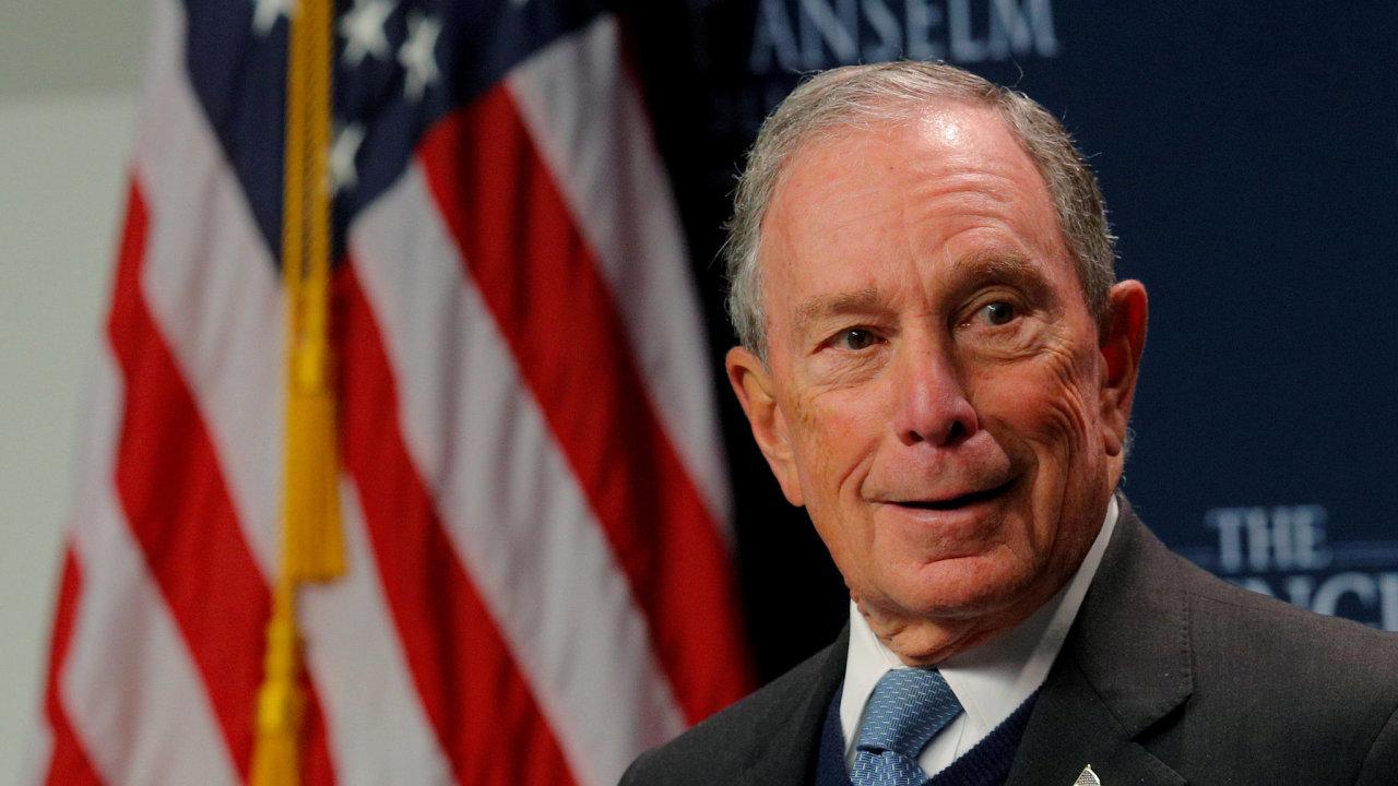 Michael Bloomberg bude kandidovat na prezidenta USA.