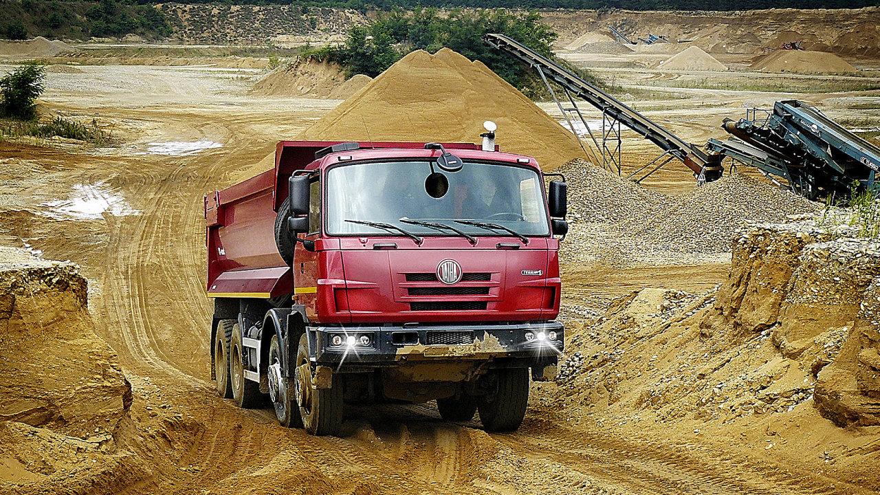 Tatra loni vyrobila 1181 nákladních aut, meziročně o 391 více.