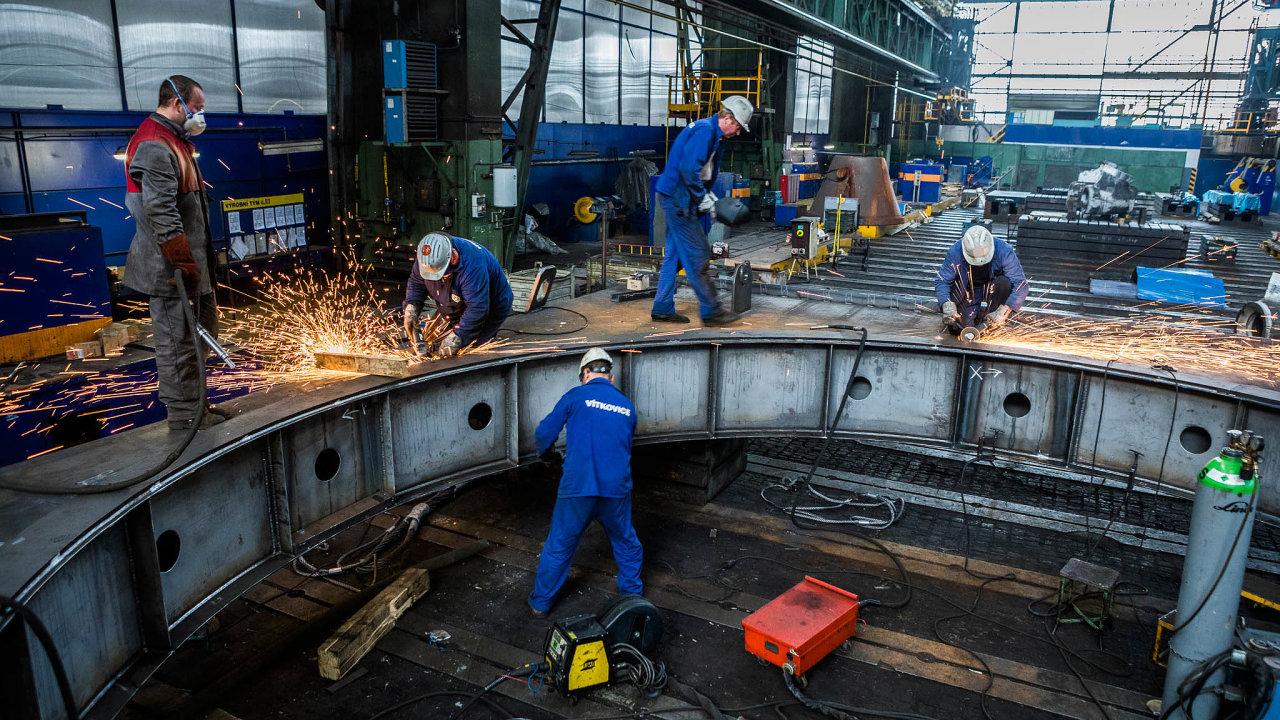 Ostravské hutě: Vítkovice Heavy Machinery byly zatím největší Strnadovou záchrannou akcí. Podvou letech je noví majitelé poslali opět doinsolvence.