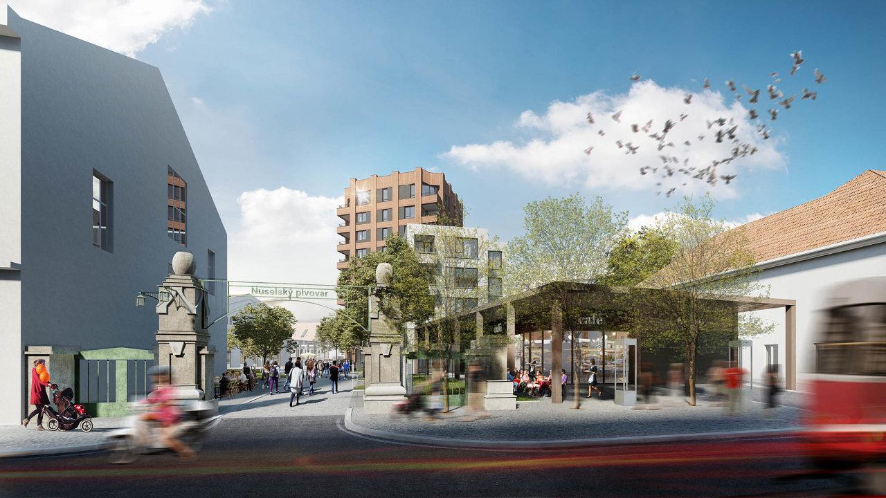 Katraktivitě budoucí obytné čtvrti přispěje ito, že nedaleko odsud, nanáměstí Bratří Synků, se vbudoucnu plánuje otevření nové stanice metra trasy D.