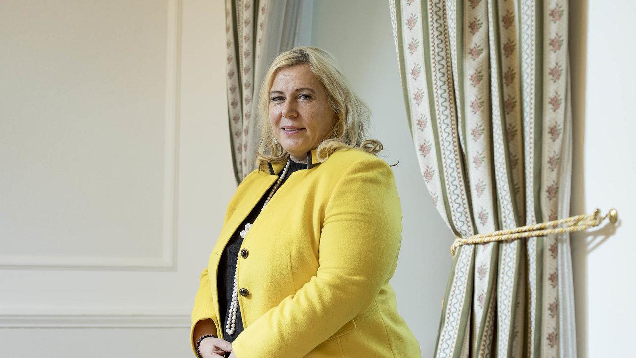 Ministryně pro místní rozvoj Klára Dostálová (zaANO).