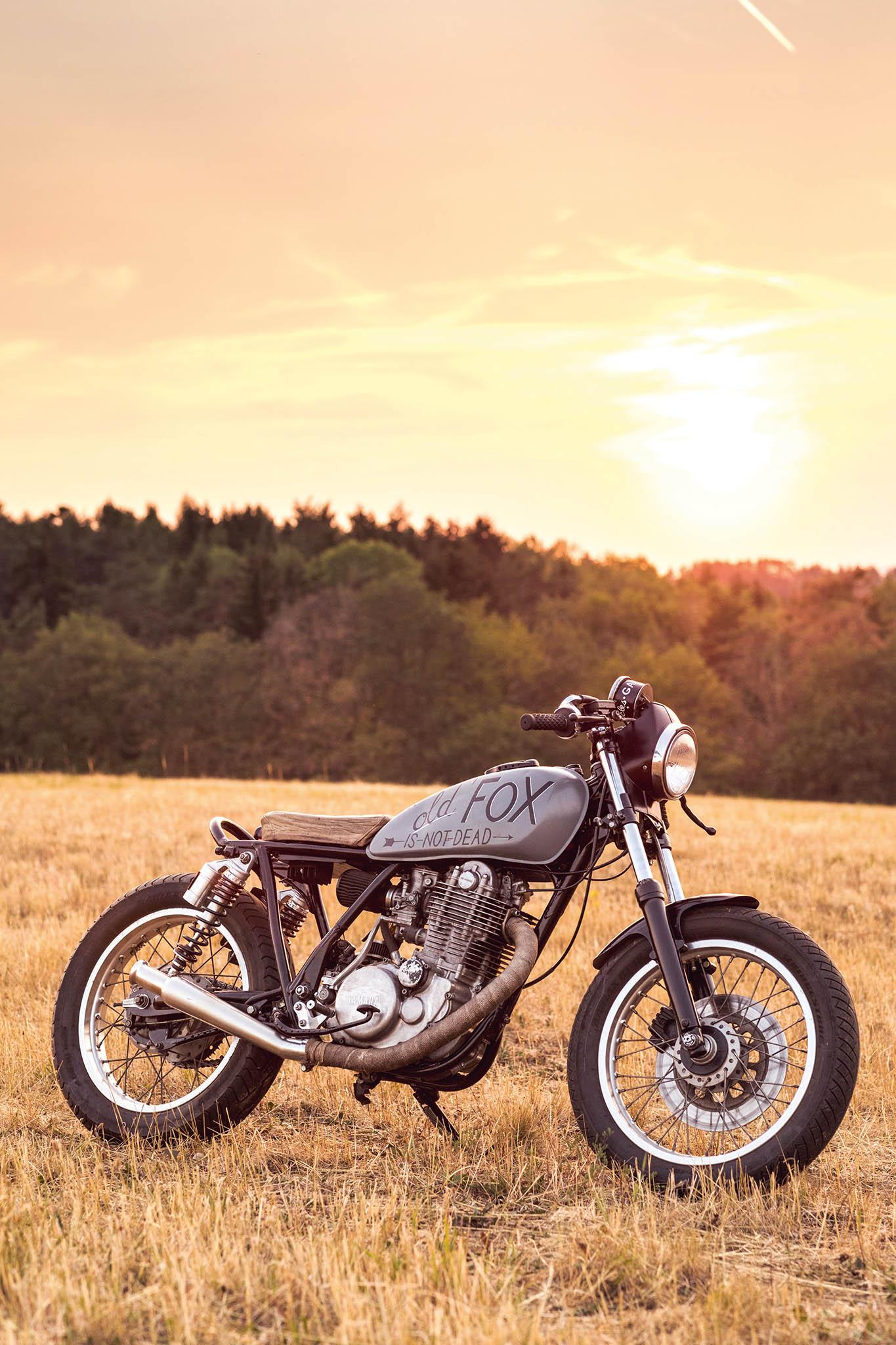 Yamaha SR 500 – proměnila se vOld Fox