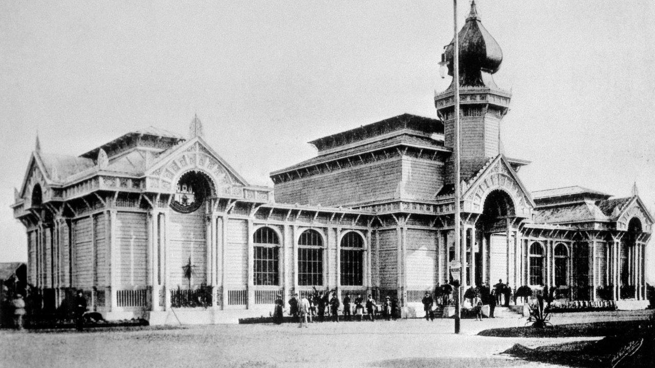 Výstaviště, Výstavní pavilon hl. m. Prahy na Všeobecné zemské výstavě 1891 v Praze.