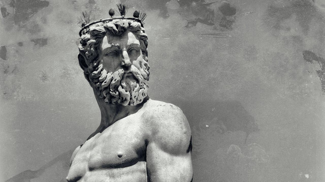 bůh, antika, řecko, socha