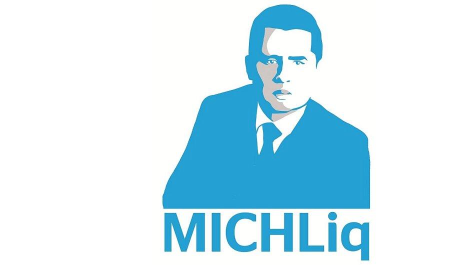 Logo rubriky MICHLiq v týdeníku Ekonom.