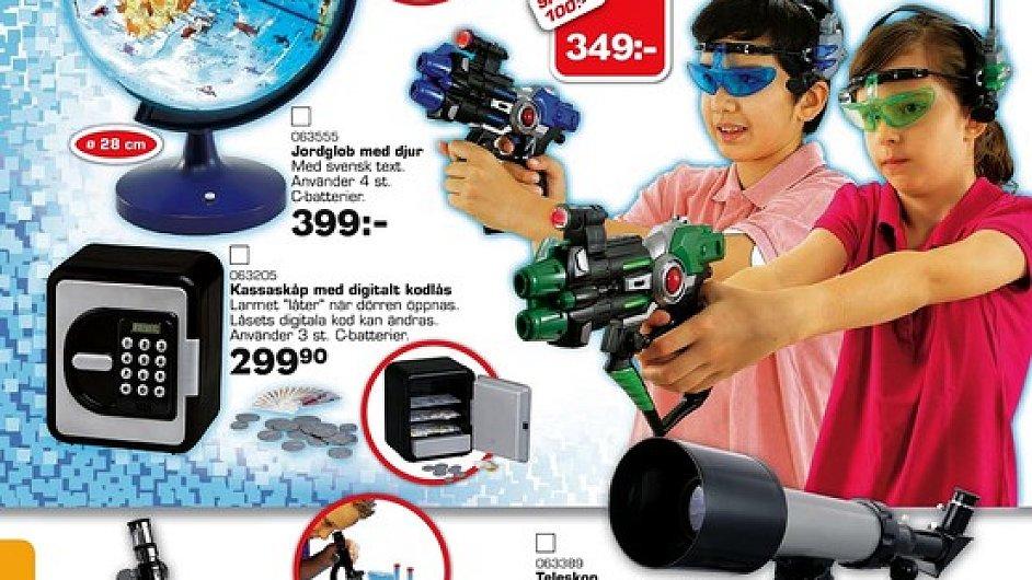 Švédsky katalog Top-Toy.