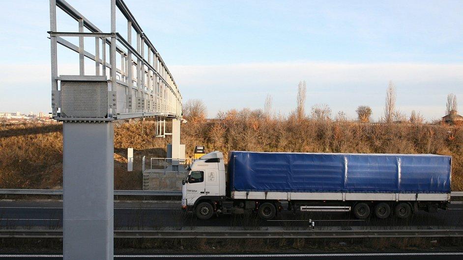 Mýtné brány na českých dálnicích