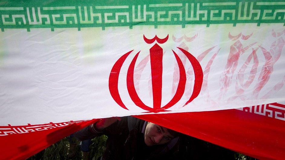 Írán - ilustrační foto.