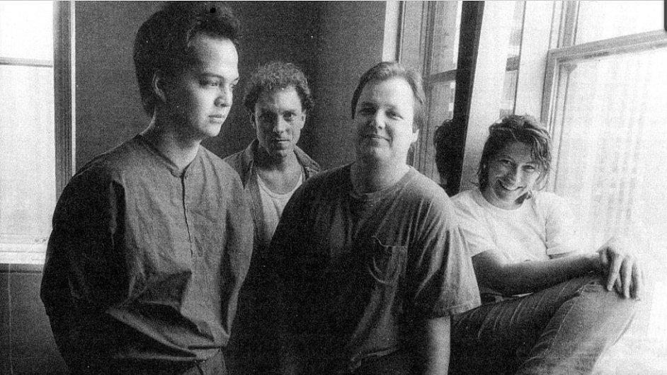 Raná fotka kapely z chystané knihy Pixies: A Visual History, která vyjde na podzim.