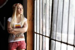 Inna Ševčenková ze skupiny Femen