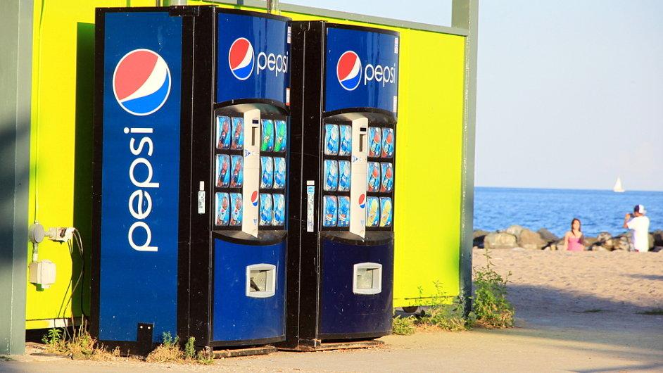 Pepsi roste zisk. Prodej nápojů ho ale spíš táhne ke dnu. (Ilustrační foto)