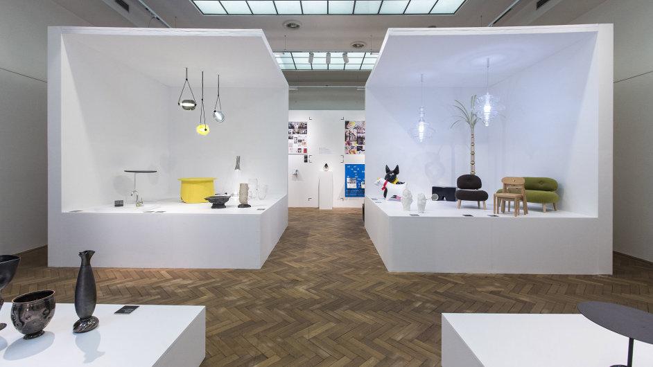 Do výstavy v pražském Technickém muzeu se vstupuje jako do antického chrámu.