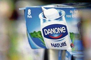 Ohledně vývoje trhu s mlékárenskými výrobky je společnost Danone spíše skeptická (lustrační foto).