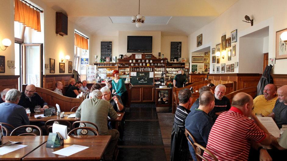 U Bansethů, oblíbená restaurace, kam chodil i Jaroslav Hašek.