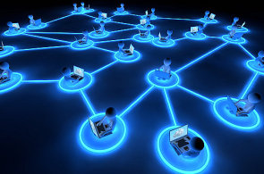 Komunikační síť, ilustrace