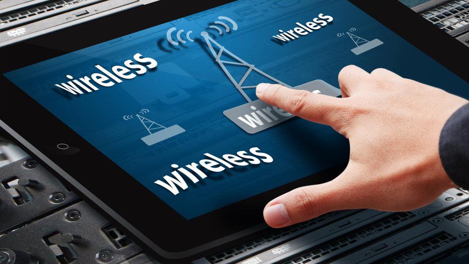 Bezdrátové přípojení/wi-fi - Ilustrační foto.