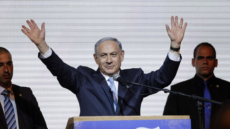 Pravicový Likud premiéra Benjamina Netanjahua (na snímku) jasně zvítězil v izraelských parlamentních volbách.