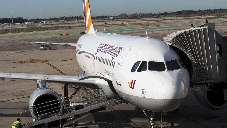 Letadlo společnosti Germanwings.