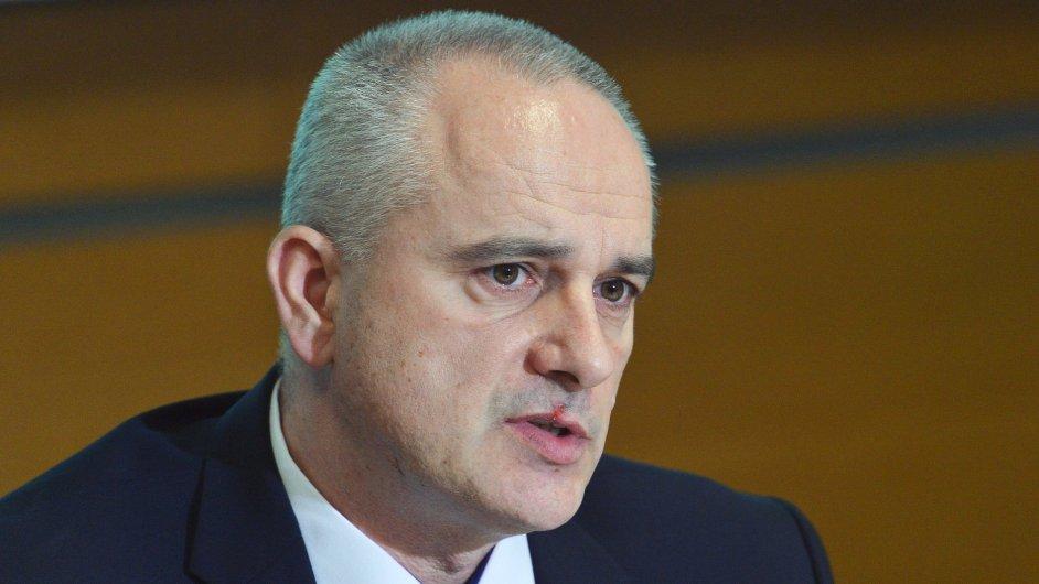 Ředitel Úřadu služby kriminální policie a vyšetřování Milan Pospíšek