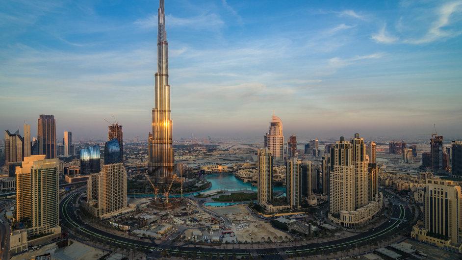 Dubaj, Burdž Chalífa, Spojené arabské emiráty