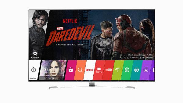 Televizor LG s podporou HDR obrazu